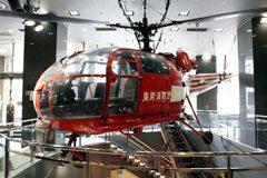 Sud-Est SE3160 Alouette III JA9020,  Fire Museum 消防博物館