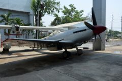 Supermarine Spitfire FR.14E Kh14-1 93 Royal Thai Air Force, Royal Thai Air Force Museum Les Spearman