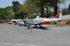 Training aircraft Royal Thai Air Force, Royal Thai Air Force Museum Les Spearman