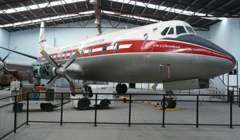 Vickers Viscount 807 ZK-BRF, Ferrymead Aeronautical Society