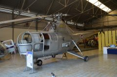 Westland Dragonfly 1A H1-4 96 Royal Thai Air Force, Royal Thai Air Force Museum Les Spearman