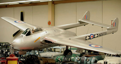 de Havilland D.H.100 Vampire FB.5 NZ5770, Southward Car Museum