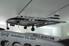 de Havilland DH.104 Dove 6 G-AJPR Gulf Aviation,  Al Mahatta Museum متحف ا