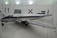 de Havilland DH.114 Heron 1B G-ANFE Gulf Aviation,  Al Mahatta Museum متحف المحطة