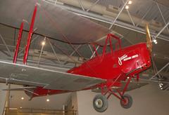 de Havilland DH.82A Tiger Moth ZK-AJO,   Museum of New Zealand Te Papa Tongarewa