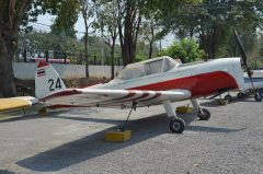 de Havilland DHC-1 Chipmunk F9-24 95 Royal Thai Air Force, Royal Thai Air Force Museum Les Spearman