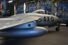 de Havilland Vampire FB.5 208 South African Air Force, South African Air Force Museum Cape Town