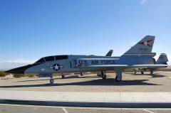 Convair QF-106B Delta Dart 59-0158 USAF, Edwards AFB West Gate Century Circle