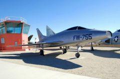 North American YF-100A-NA Super Sabre 52-5755/FW-755 Edwards AFB West Gate Century Circle