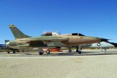 Republic F-105D Thunderchief 61-0146/HI USAF, Edwards AFB West Gate Century Circle