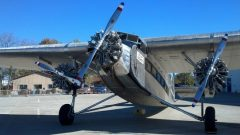 Ford 5-AT-8 Tri-Motor NC9645 Liberty Aviation Museum