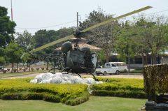 Bell OH-13S Sioux 9182 Royal Thai Army, Thai National Memorial อนุสรณ์สถานแห่งชาติ Bangkok