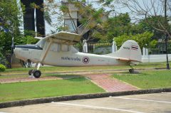 Cessna O-1E Bird Dog T2-36 Royal Thai Air Force, Thai National Memorial อนุสรณ์สถานแห่งชาติ Bangkok