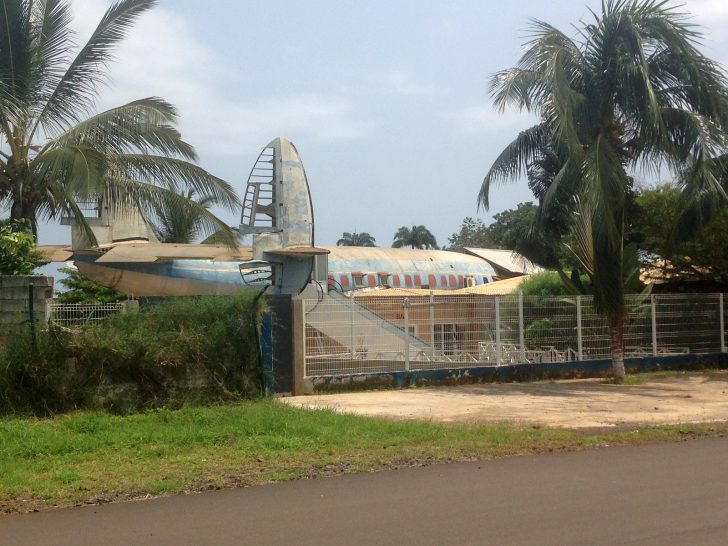 Lockheed L1049H Super Constellations, , Aeroporto Internacional de São Tomé