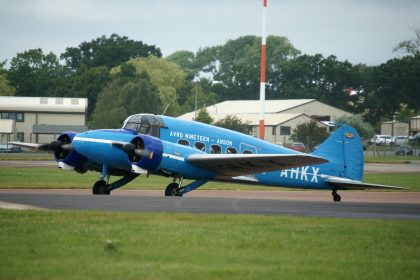 Avro 652A Anson C.19 Series 2 G-AHKX private Shuttle Worth Collection