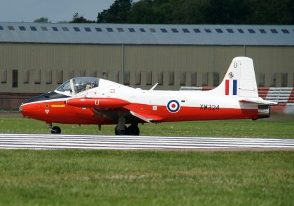 BAC Jet Provost T Mk.5 G-BWSG/XW324 RAF Private, RIAT 2016 RAF Fairford