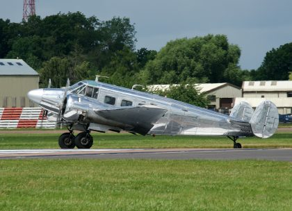 Beech G18S N45CF private