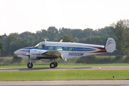 Beech H-18 N6000M private Flugplatz Stadtlohn-Vreden picture Johan Visschedijk