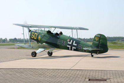 CASA1.131E3B Jungmann D-EQXA CW+BG Flugplatz Stadtlohn-Vreden picture Johan Visschedijk
