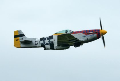 North American P-51D Mustang PH-PSI 44-74425 G- DHAC EHLW 11jun16