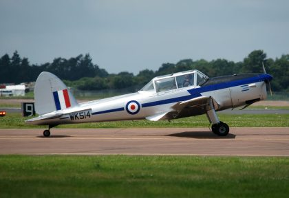 De Havilland DHC-1 Chipmunk G-BBMO WK514 RAF private