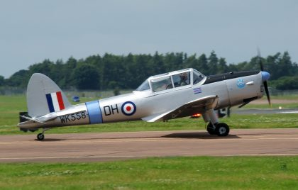 De Havilland DHC-1 Chipmunk T.1 G-ARMG WK558 DH RAF private, RIAT 2016 RAF Fairford