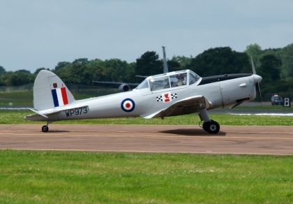De Havilland DHC-1 Chipmunk T.10 G-BCPU WP973 RAF private, RIAT 2016 RAF Fairford