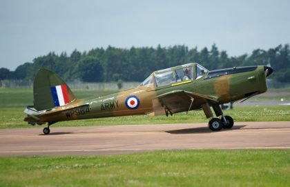 De Havilland DHC-1 Chipmunk T.10 G-HDAE WP964 Army Air Corps private, RIAT 2016 RAF Fairford