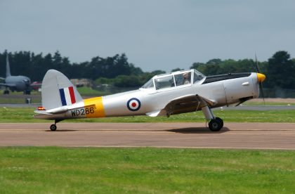 De Havilland DHC-1 Chipmunk T.10 G-BBND WD286 RAF, RIAT 2016 RAF Fairford