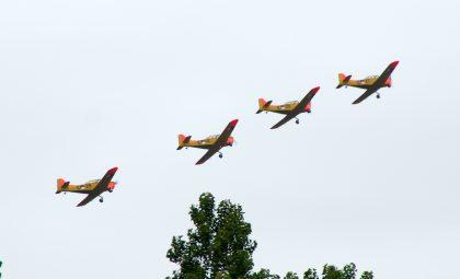 4 Fokker S-11's of Fokker Four