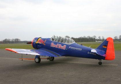 North American SNJ-5 Texan D-FHGL Red Bull Flugplatz Stadtlohn-Vreden picture Johan Visschedijk