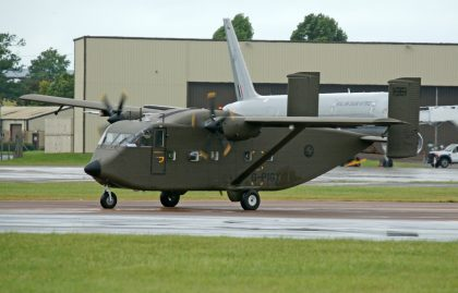 Short SC.7 Skyvan G-PIGY private
