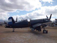 Vought F4U-5N Corsario FAH-609 Fundación Museo del Aire de Honduras