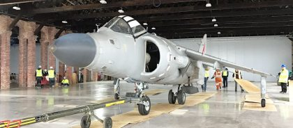 BAE Sea Harrier FA.2 ZD610 002 714 Royal Navy Aerospace Bristol