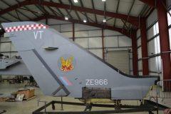Panavia Tornado F.3 ZE966/VT RAF, Tornado Heritage Centre
