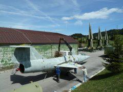 Lockheed F-104S-ASA Starfighter MM6781 Italian Air Force, Base Tuono
