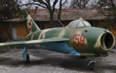 PZL-Mielec Lim-5 159 Bulgarian Air Force, Музей на бойната слава