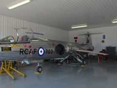 Canadair CF-104 Starfighter 12703 RCAF, Canadian Starfighter Museum