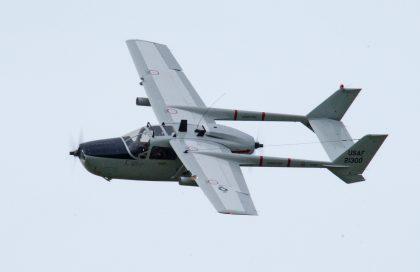 Cessna O-2A Super Skymaster N590D 21300 USAF (Stichting Postbellum), Marineluchtvaartdienst (Netherlands Naval Aviation Service)