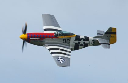 North American P-51D Mustang PH-PSI 474425 OC-G USAAF, Marineluchtvaartdienst (Netherlands Naval Aviation Service)