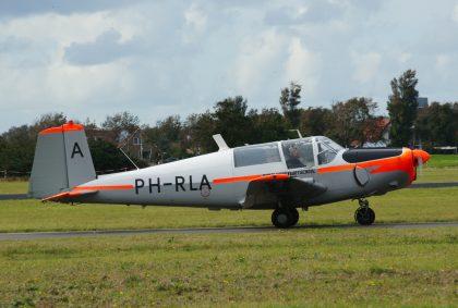 Saab 91D Safir PH-RLA Rijksluchtvaartschool (Stichting Levende Oude Luchtvaart), Marineluchtvaartdienst (Netherlands Naval Aviation Service)