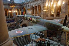 Supermarine Spitfire F.21 LA198 RAI-G RAF,Kelvingrove Art Gallery and Museum