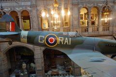 Supermarine Spitfire F.21 LA198 RAI-G RAF, Kelvingrove Art Gallery and Museum