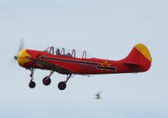Yakovlev Yak-52 PH-YAX DOSAAF (Yak Formation), Marineluchtvaartdienst (Netherlands Naval Aviation Service)