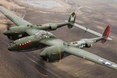 Lockheed P-38L Lightning NX79123 3321 L2-W USAAF, Fagen Fighters WWII Museum