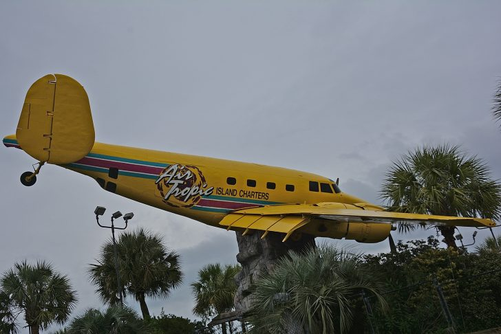 Lockheed (Vega) PV-2 Harpoon N72707 (37492 USN) Air Tropic Island Charters, Mayday Golf - Myrtle Beach Mini Golf Course