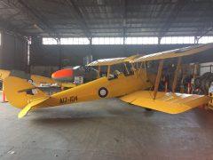 de Havilland DH.82a Tiger Moth A17-104 RAAF, Benalla Aviation Museum