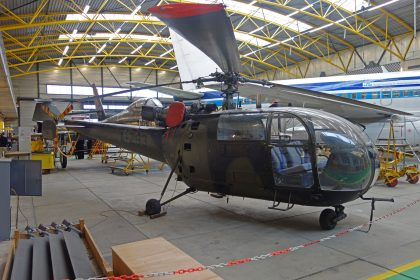 Aerospatiale SE.3160 Alouette III A-293 Royal Netherlands Air Force,