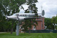 Beechcraft D18S CF-MPH Royal Canadian Mounted Police, Regina