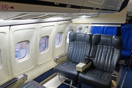 Boeing 737-287 LV-LEB ex Aerolíneas Argentinas as PH-ROC, ROC van Amsterdam – MBO College Airport, Hoofddorp